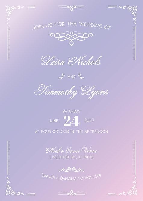 Leisa Invitation Suite