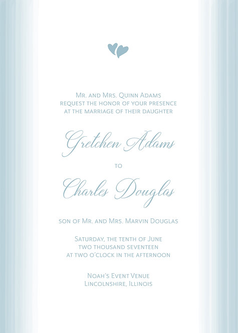 Jody Invitation Suite - Flat Print
