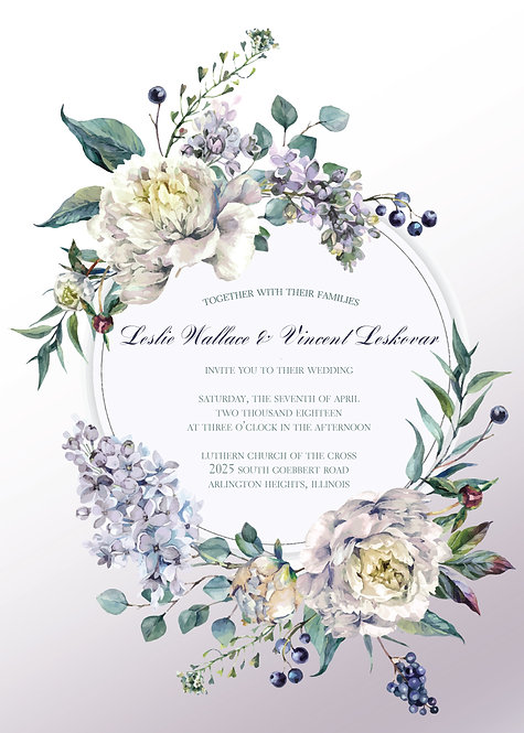 Maggie Invitation Suite - Flat Print