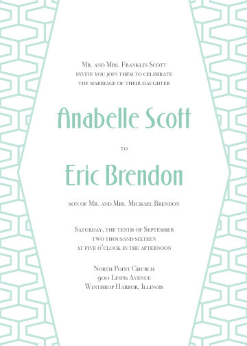 Addison Invitation Suite - Flat Print