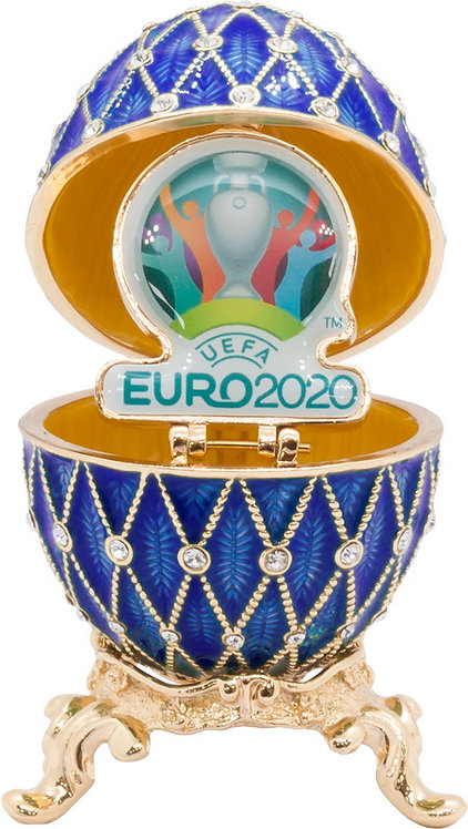 Яйцо-шкатулка 65 мм UEFA ЕВРО 2020