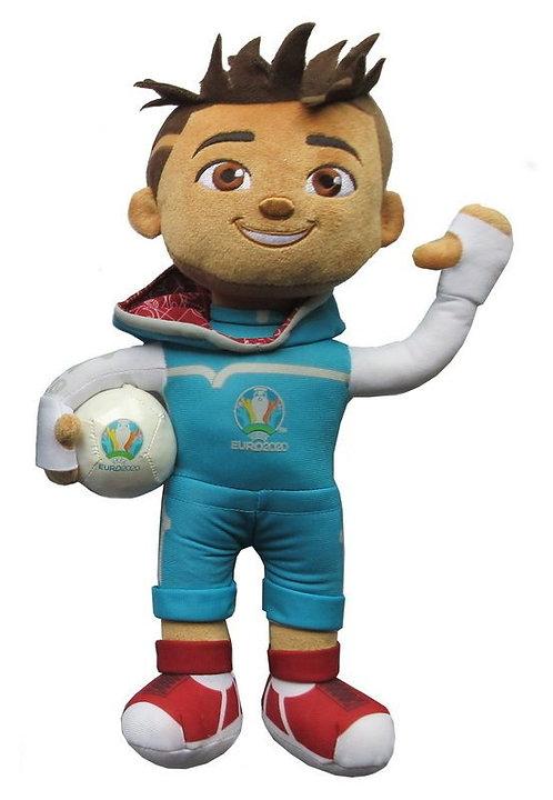 Мягкая игрушка - талисман СКИЛЛЗИ (Skillzy) 25 см UEFA ЕВРО 2020