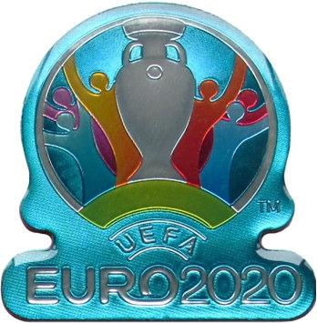 Магнит фигурный Эмблема  UEFA ЕВРО 2020