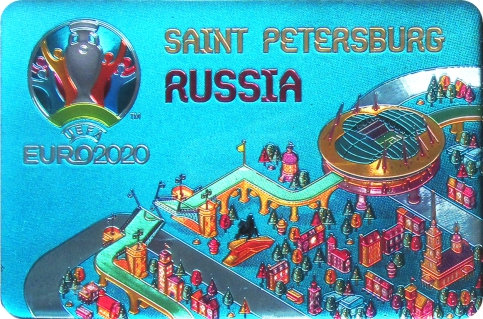 Магнит Санкт-Петербург (Стадион)  UEFA ЕВРО 2020