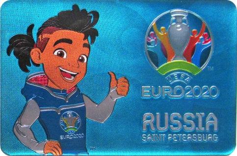 Магнит СКИЛЛЗИ (SKILLZY) UEFA ЕВРО 2020