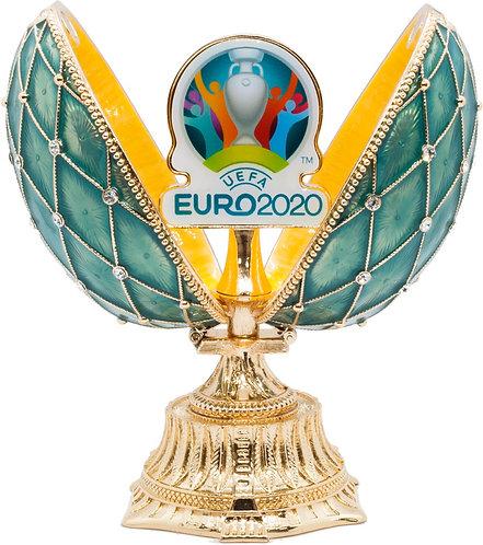 Яйцо-шкатулка 115 мм UEFA ЕВРО 2020