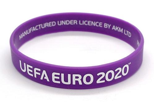 Браслет силиконовый UEFA ЕВРО 2020
