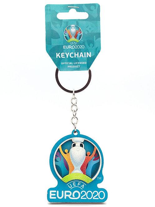 "Брелок ""Эмблема"" (эко)  UEFA ЕВРО 2020"
