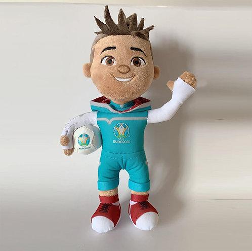 Мягкая игрушка - талисман СКИЛЛЗИ (Skillzy) 35 см UEFA ЕВРО 2020