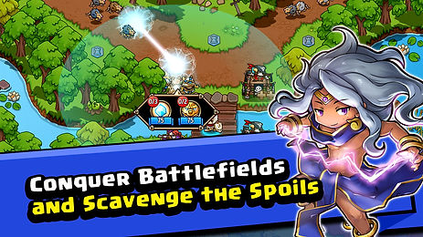 The best tower defense strategy game, choose your battlefields to fight