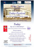 """Today Festival"" Milano Classica Orchestra and the Municipality of Milan"
