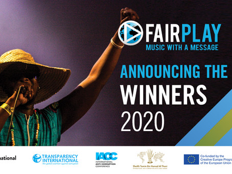 fair play Anti-Corruption music competition 2020: announcing the winners