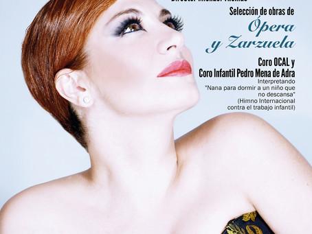 """Pilar Jurado will perform the anthem """"Nana para dormir a un niño que no descansa"""""""