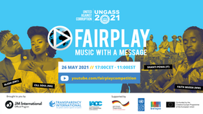 FAIR PLAY BRINGS ANTI-CORRUPTION MUSIC TO THE UNGASS YOUTH FORUM