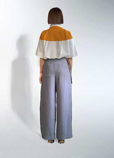 Zero waste pattern cutting trousers