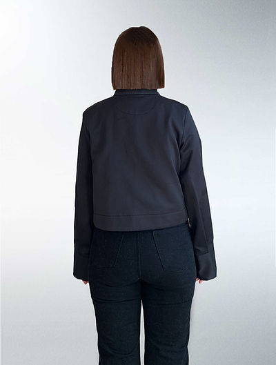 Zero waste pattern cutting jacket