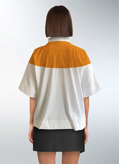 Zero waste pattern cutting t-shirt