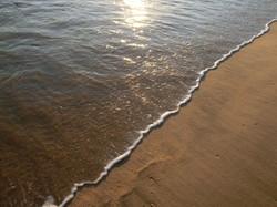 海徳寺前 砂浜