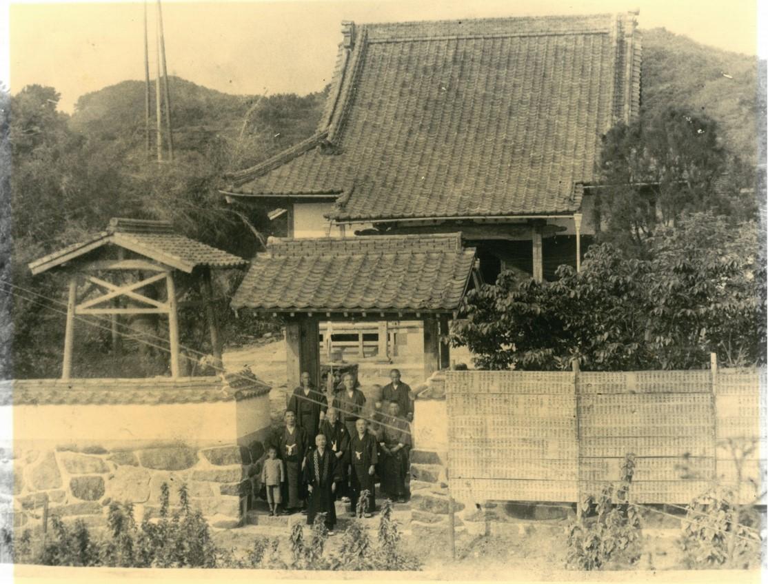戦前の海徳寺全景(十四世元甫師)