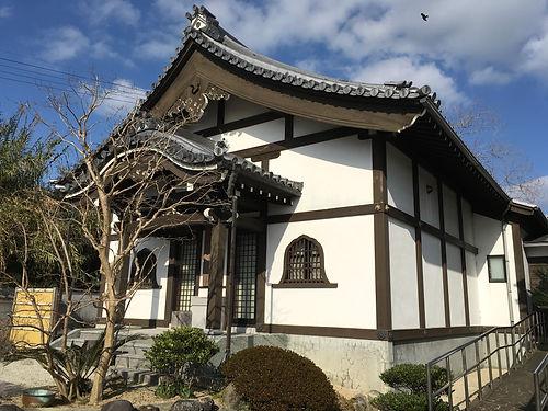 海徳寺感恩堂