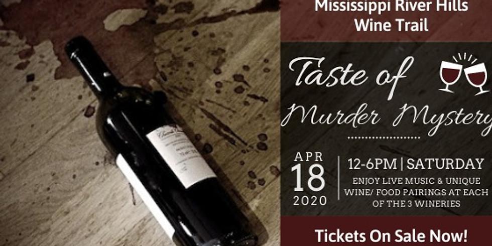 POSTPONED- Murder Wine Trail