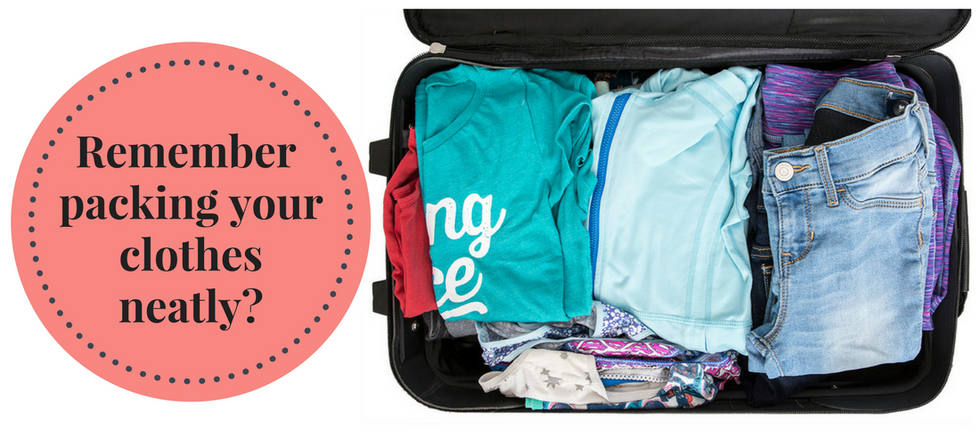 Meebands: Packing Clothes Neatly