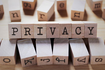 Privacy Word In Wooden Cube.jpg