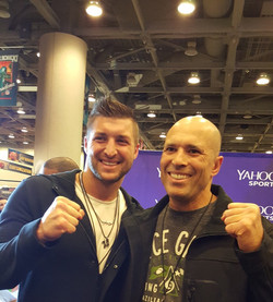 Tim Tebow and Royce Gracie