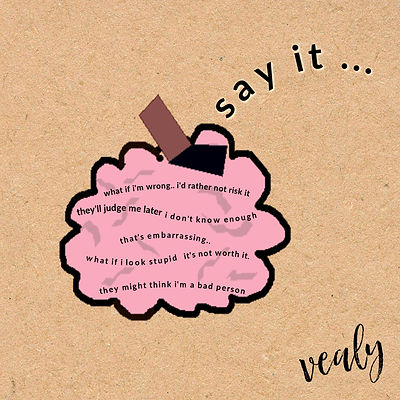 Say It by Vealy Album cover