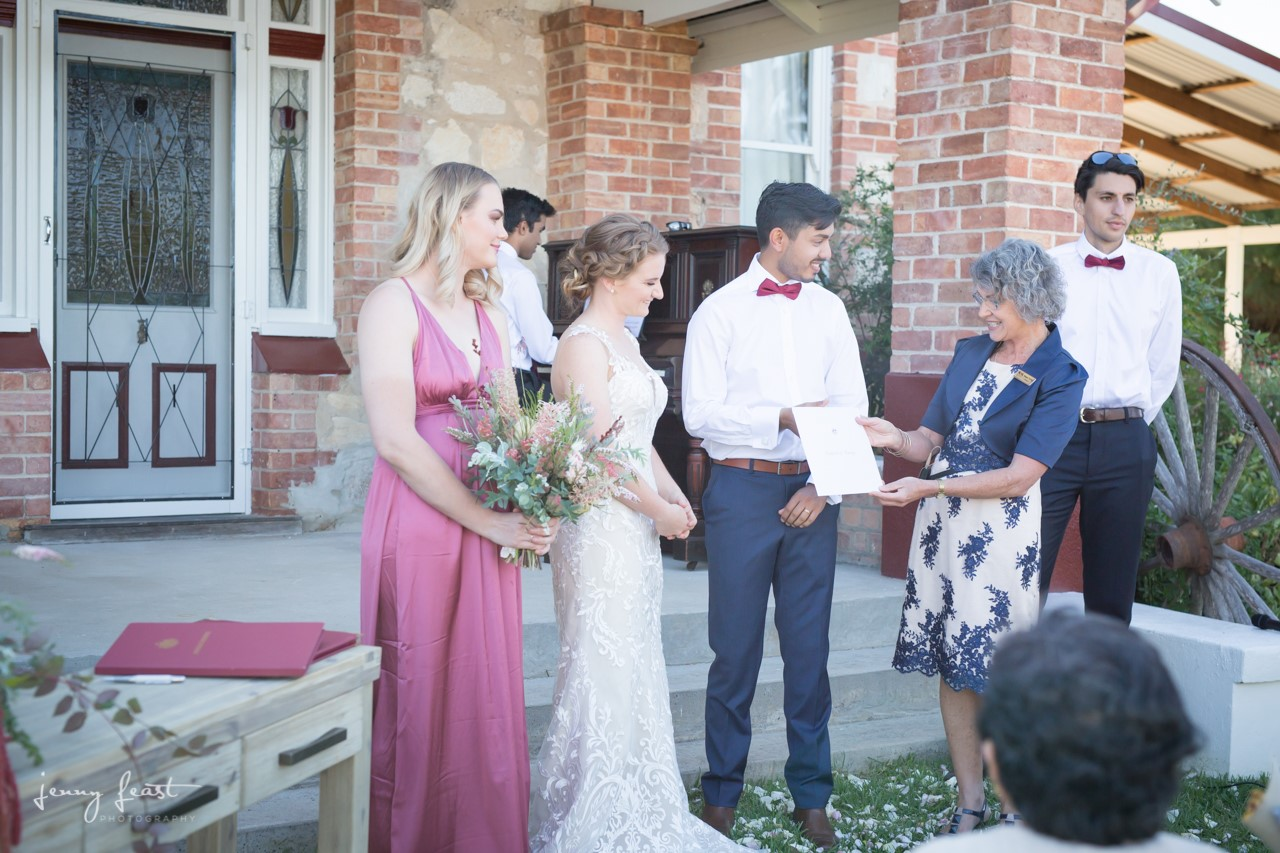 Bea House WEdding