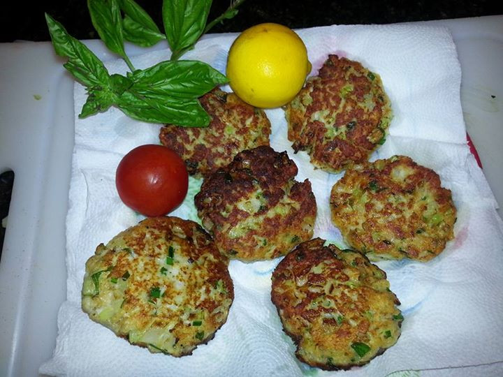 No crab available for crabcakes substitute fresh fish. Taste the same, check out the recipe on livebythetides.com.jpg