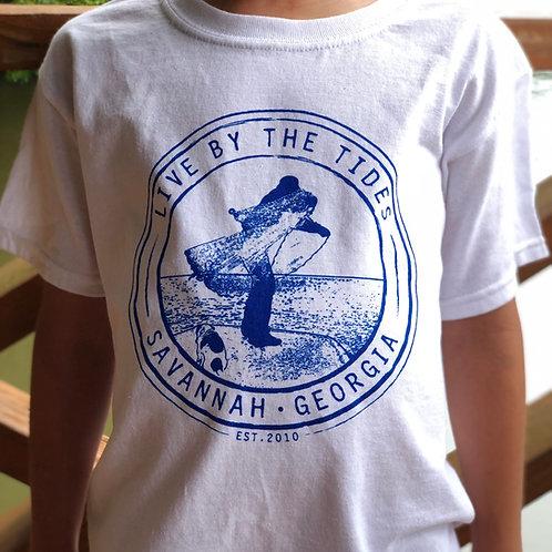 Youth LBTT Cast Net Seal Short Sleeve Dryblend T-Shirt