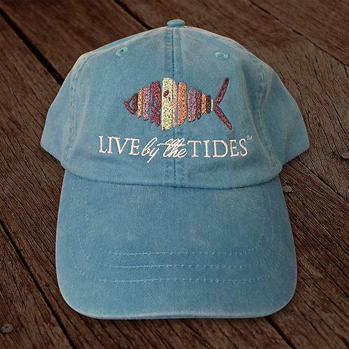 Caribbean Blue Logo Hat