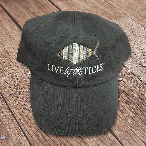 Charcoal Logo Hat