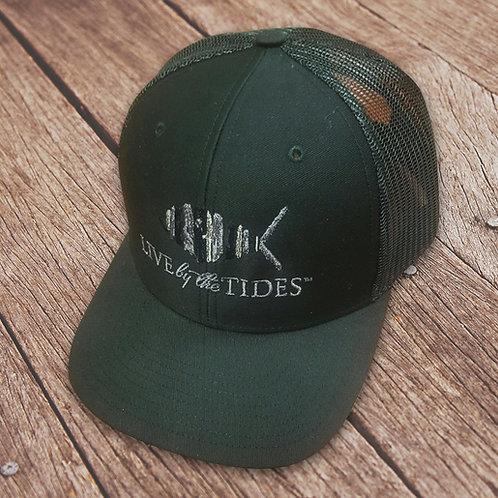 Black on Black Logo Trucker Hat