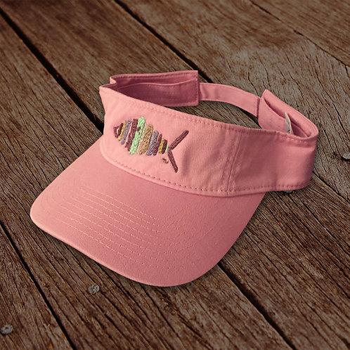 Light Pink Logo Visor