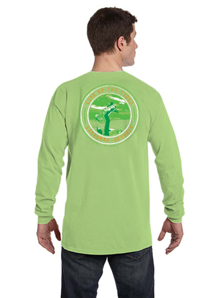 2018 St. Patrick's Day LBTT Cast Net Seal Long-Sleeve Tee