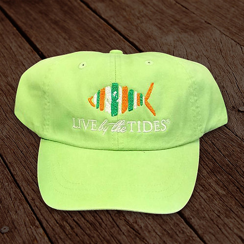 Lime Green St. Patrick's Day Logo Hat