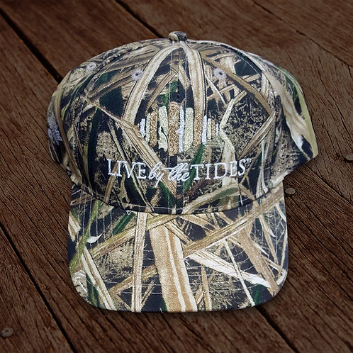 Shadow Grass Camouflage Logo Hat