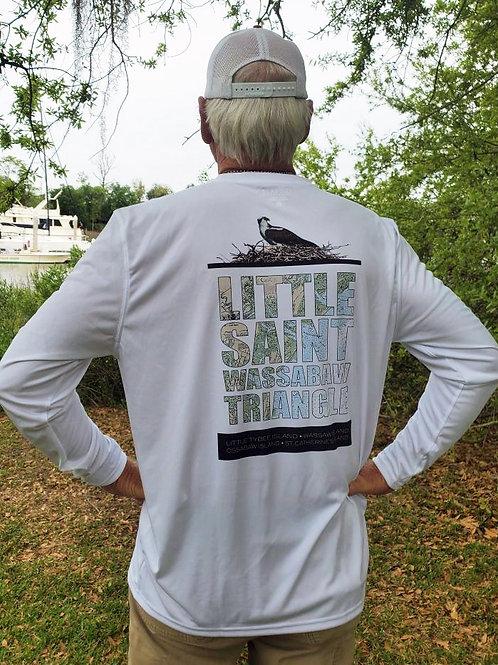 Little Saint Wassabaw Long-sleeve Denali Performance Shirt