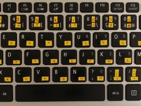 [Astuce/DIY] Confectionnez votre propre clavier étranger – Make Your Own Foreign Keyboard