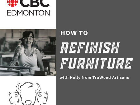 How To Refinish Furniture - with Holly!
