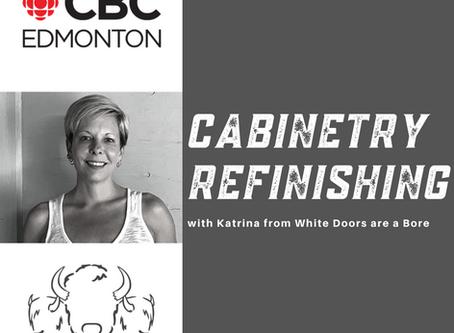 Kitchen or Bathroom Cabinet Refinishing - with Katrina!