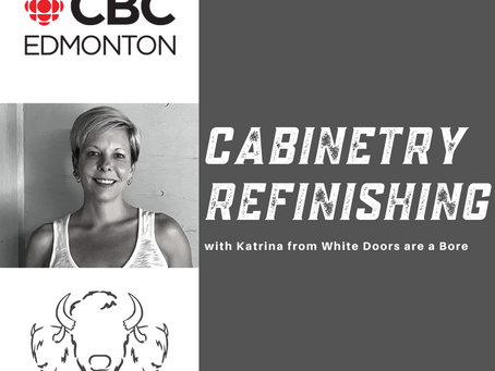Kitchen or Bathroom Cabinet Refinishing - with Katrina!