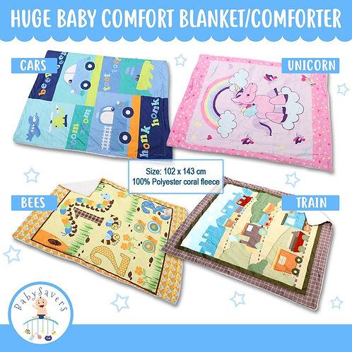 Baby Infant plush Blanket 102x143cm