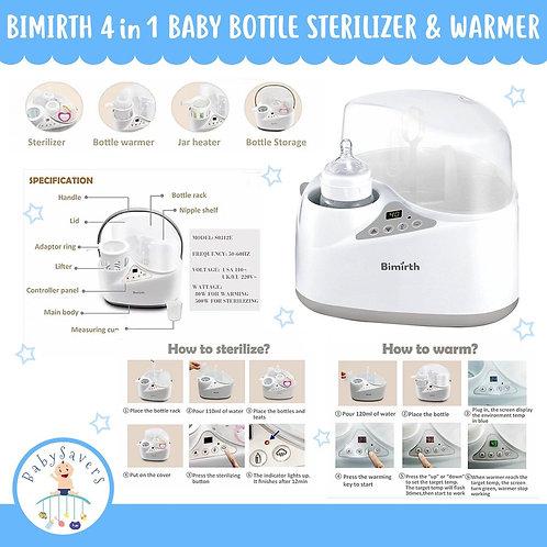 Bimirth Baby Bottle Warmer, Smart Intelligent 4-in-1