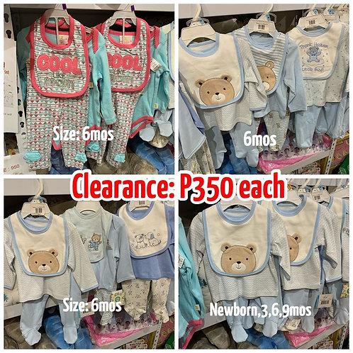 Infant Clothes set