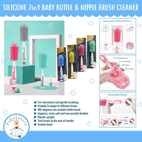 Silicone 2in1 Bottle Brush