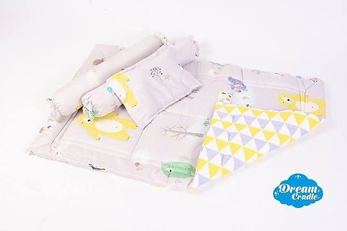 DreamCradle Reversible Mat comforter set