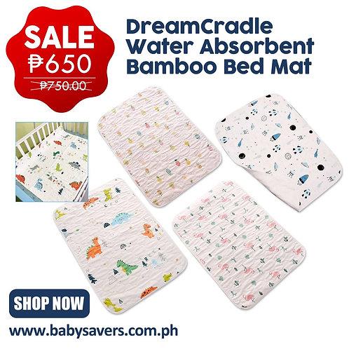 DreamCradle Water Absorbent Bamboo Bed mat